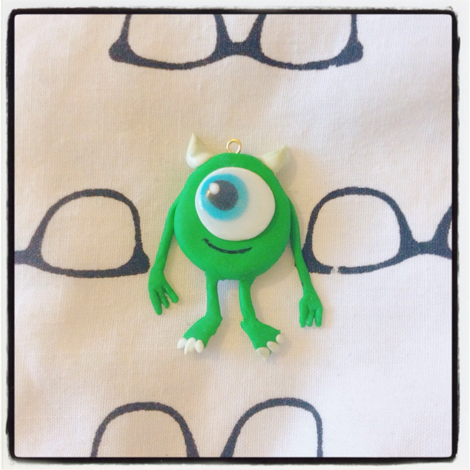 Fimo Polymer Clay Monsters Inc Little Awkward Fox